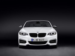 2015 BMW 2 Series Convertible with M Performance Parts. Image by BMW.