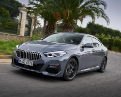 BMW 220d Gran Coupe test drive. Image by BMW AG.