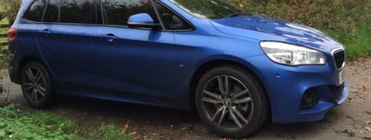 BMW 2 Series Gran Tourer. Image by Adam Towler.