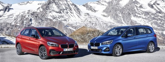 BMW updates 2 Series Active and Gran Tourers. Image by BMW.