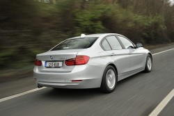 2012 BMW 320d EfficientDynamics. Image by Max Earey.