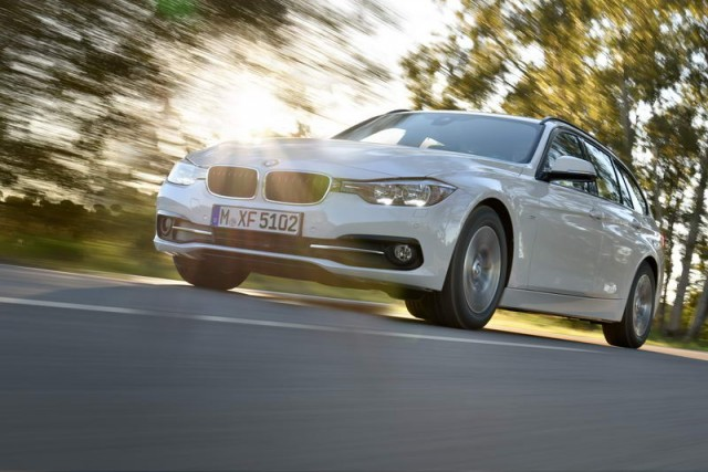 First drive: BMW 320d EfficientDynamics Plus Touring. Image by BMW.