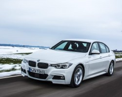 3 Series goes PHEV. Image by BMW.