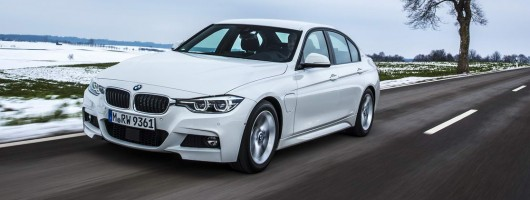 First drive: BMW 330e. Image by BMW.