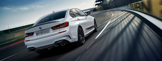 M Performance parts revealed for BMW 3 Series. Image by BMW.