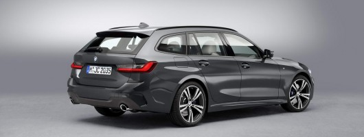 BMW boots up 3 Series Touring Mk6. Image by BMW.