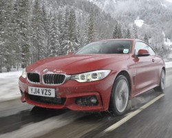All-wheel drive BMW 435d. Image by BMW.