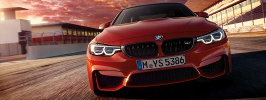 Tweaked BMW M4 headlines updated 4 Series line-up. Image by BMW.