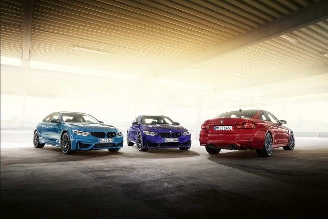 BMW to make just 750 M Heritage M4s. Image by BMW AG.
