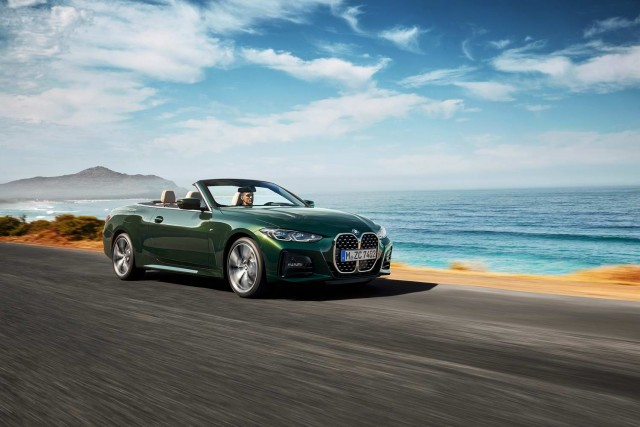 BMW unveils 4 Series Convertible. Image by BMW AG.