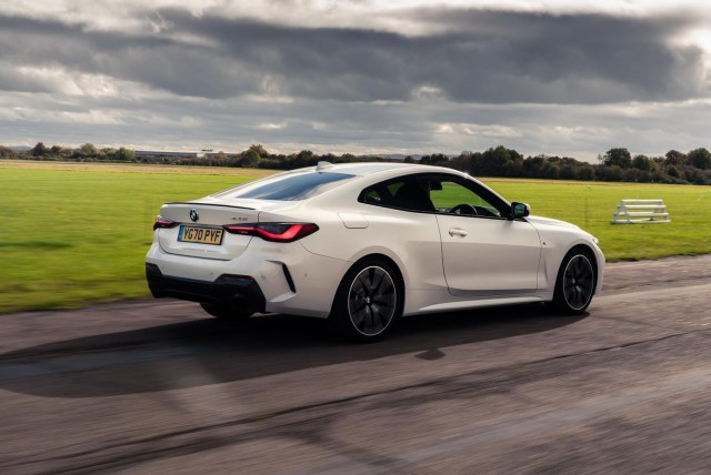 First drive: BMW 420d M Sport. Image by BMW UK.