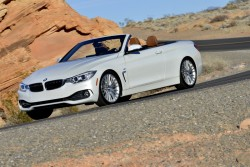 2014 BMW 435i Convertible. Image by BMW.