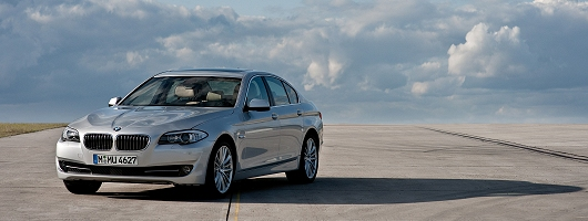 Three-cylinder BMW 5 Series on the cards. Image by BMW.