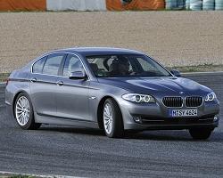 2010 BMW 5 Series. Image by BMW.