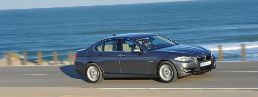 First Drive: 2010 BMW 5 Series. Image by BMW.