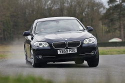 2010 BMW 5 Series. Image by Max Earey.
