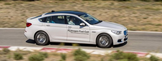 Bmw 5 Series Gt Fuel Cell Electric Vehicle Prototype Image By