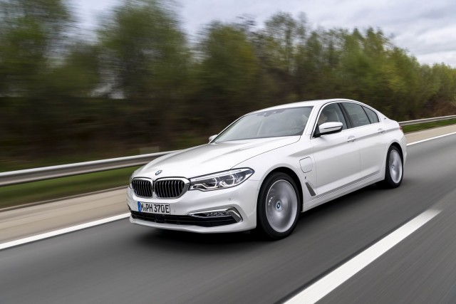 First drive: BMW 530e iPerformance. Image by BMW.