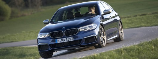 First drive: BMW M550i xDrive. Image by BMW.