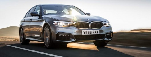 First drive: BMW 520d M Sport. Image by BMW.