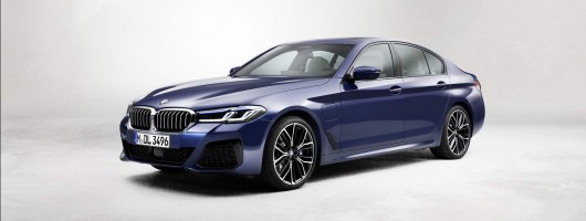 BMW updates G30 and G31 5 Series. Image by BMW AG.