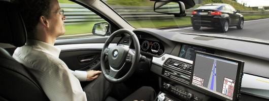 Feature drive: BMW Autonomous 5 Series. Image by BMW.