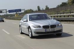 2011 BMW 5 Series autonomous prototype. Image by BMW.