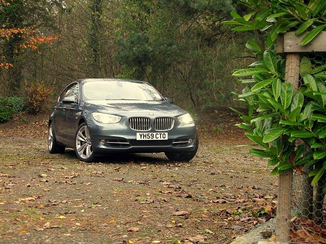 Week at the Wheel: BMW 550i Gran Turismo. Image by Mark Nichol.