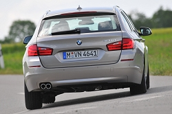 2010 BMW 5 Series Touring. Image by BMW.