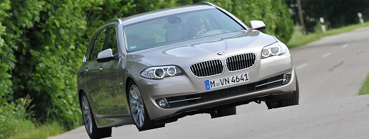 First Drive: BMW 5 Series Touring. Image by BMW.