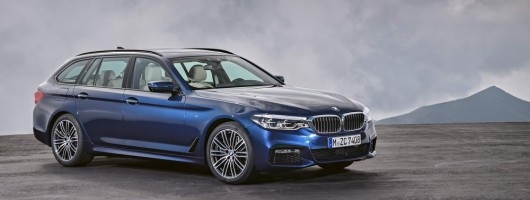 Touring adds practicality to BMW 5 Series range. Image by BMW.
