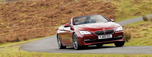 First Drive: BMW 640i Convertible. Image by Max Earey.
