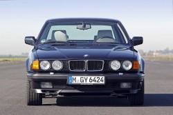 E32 BMW 750i. Image by BMW.