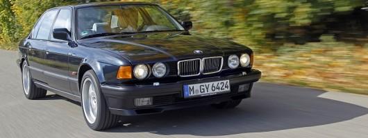 Retro drives: BMW E32 and E38 V12 7 Series. Image by BMW.