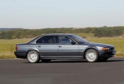 E38 BMW 750iL. Image by BMW.