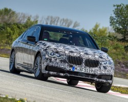 Advanced new BMW 7 Series. Image by BMW.