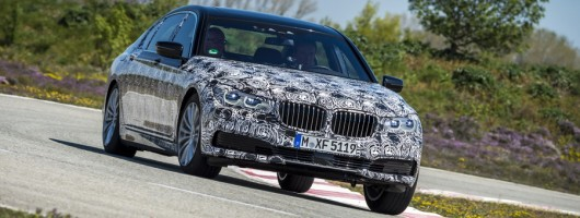 First drive: BMW 7 Series pre-production prototype. Image by BMW.