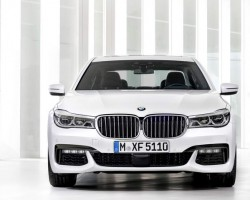 2015 BMW 7 Series. Image by BMW.