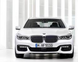 2015 BMW 7 Series. Image by BMW.