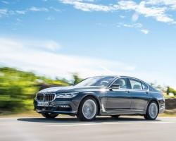 Brilliant diesel 7 Series. Image by BMW.