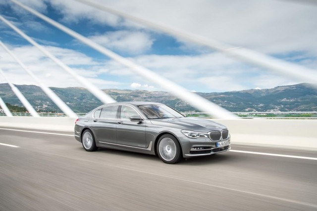 Quad-turbo BMW 750d delivers 400hp. Image by BMW.
