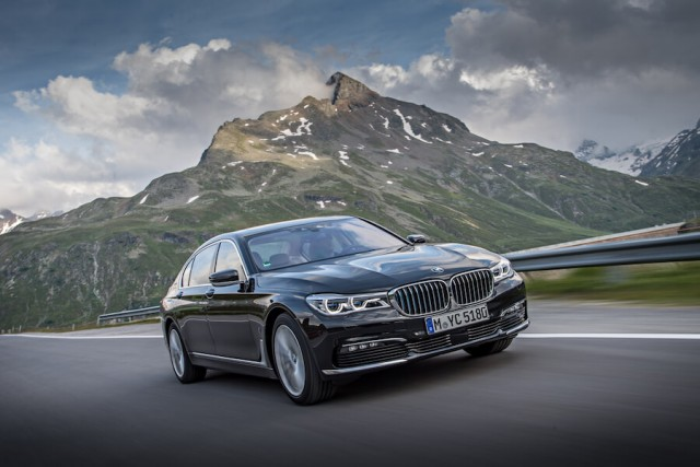 First drive: BMW 740Le xDrive iPerformance. Image by BMW.