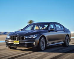 New V12-engined BMW M760Li. Image by BMW.