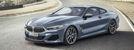 BMW 8 Series revealed in full. Image by BMW.