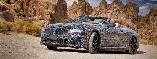 BMW opens up on 8 Series Convertible. Image by BMW.