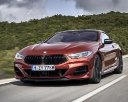 2019 BMW 8 Series. Image by BMW.