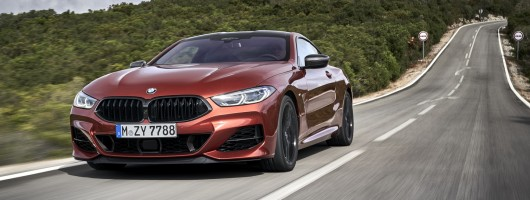 First drive: BMW M850i xDrive Coupe. Image by BMW.
