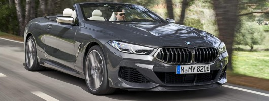 First drive: BMW M850i xDrive Convertible. Image by BMW.