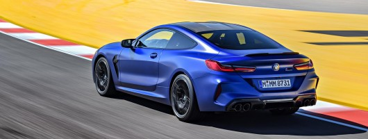 First drive: BMW M8 Competition. Image by BMW AG.