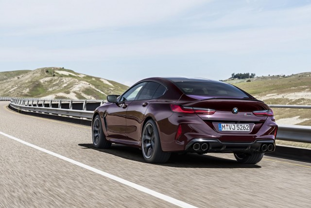 First drive: BMW M8 Competition Gran Coupe. Image by BMW.